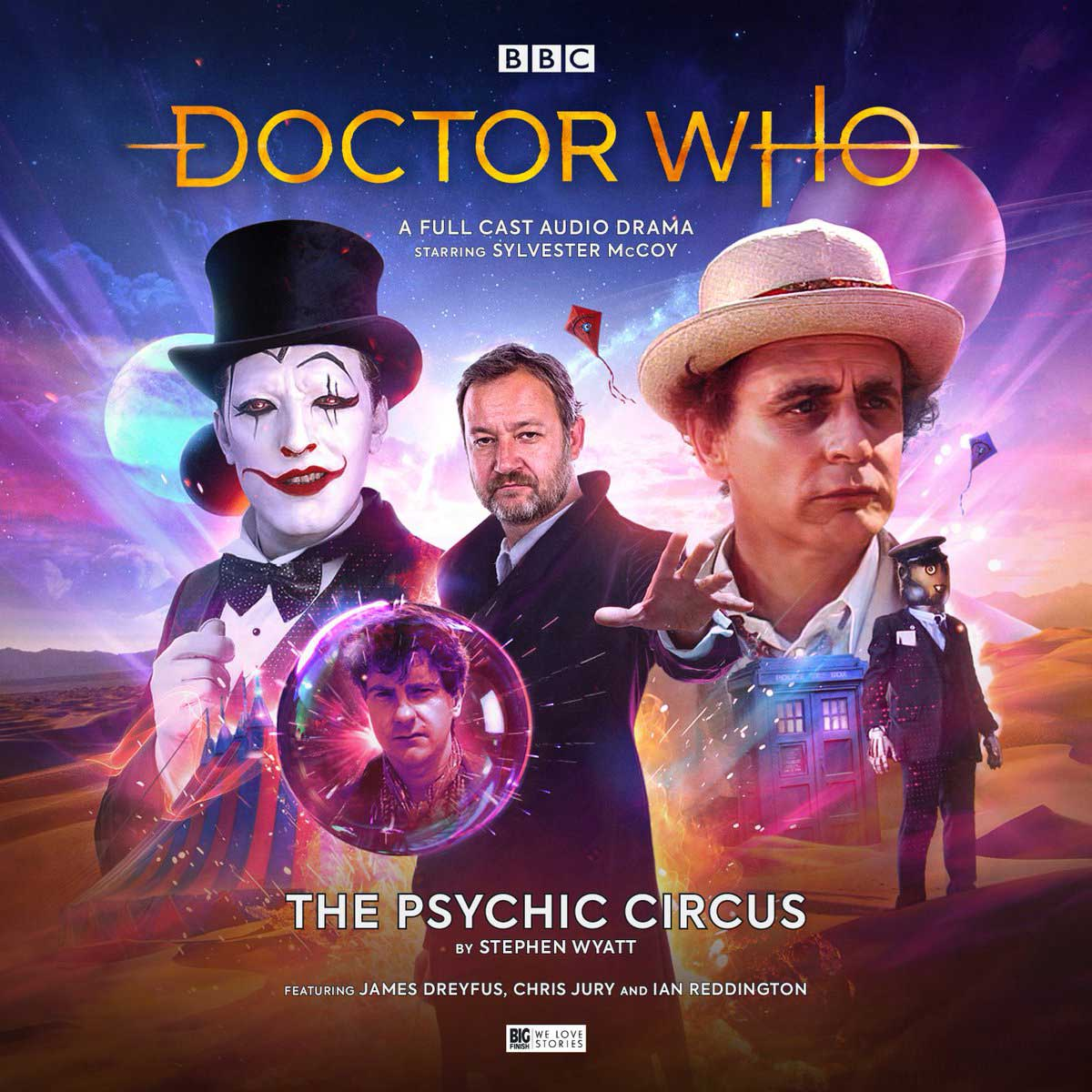 DOCTOR WHO - THE PSYCHIC CIRCUS
